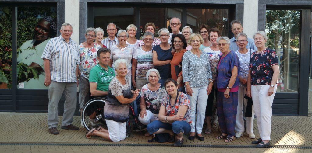 De vrijwilligers van Wereldwinkel Barneveld